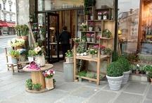 KauniitaKukkakauppoja / Ihania ideoita kukkakauppojen somistamiseen.