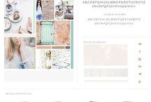 Website Colour Pallet