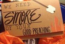 Creative Gifts / Neat DIY projects to show your pastor that you care.