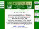 Make-N-Dollars Data Entry Program / Full step by step training on how to earn up to $200 daily from home. Full affiliate marketing training guide, instructional videos, 100 free ebooks on how to make money with ebay, adsense, website flipping and so much more. Full back office and database full of incredible software, tools, REAL data entry job listings, surveys and more...