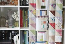 Improv quilt / I might make one of these