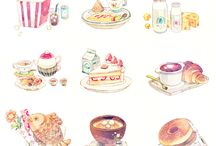 Food Illustration / Pictures of food that look too good to eat