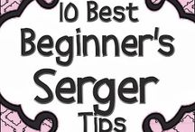 SEW--sewing with serger