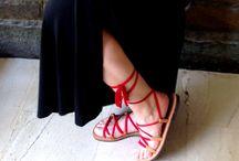 Sandals / Handmade Gladiator Sandals