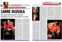 Catalyst NEWS / keeping you in the loop: photos, updates, media features and all information on The Catalyst, Lanre Olusola.