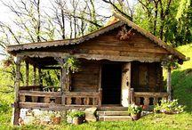 Casa lemn vechi-fara cuvinte
