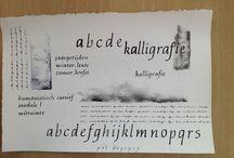 calligraphy-alphabet