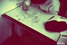 I miei disegni / non ho basi di disegno ma adoro disegnare specialmente manga e anime