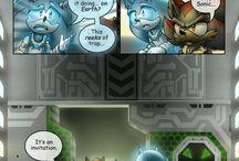 Sonic comic issue 9