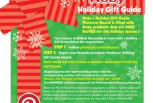 Nuby's Holiday Gift Guide #Pinterest #Giveaway / by Written By Mama