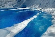 Glaciers, Icebergs and Arctic Landscape