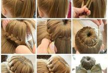 Kız Çocuk Saç örgüleri