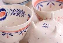Porcelain ideas / China white and coloured too