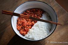 Recettes japonaises / Japanese recipes / Toutes les recettes d'inspiration japonaise / All Japanese inspiration recipes