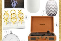 HOLIDAY: gift guides / tis the season...what are you giftin'