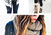 Styling In Snow / Warm up with these tips to stay fashionable during the winer season.