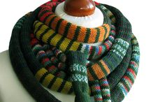 Jewelry knitted