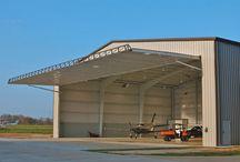 Hydroswing Hydraulic Doors for Aviation / Hydroswing Hydraulic Hangar Doors for Aviation