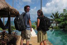 Travel Tricks / Tricks & tips for travel - Packing light, staying organised, journalling