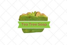 Buy Online Tea Tree Soap / Tea tree Soap made with Tea Tree oil and is very aromatic. I have put the soap in my room at night to open my sinus. It's not only double milled with extra goat milk but it also double as aroma therapy.