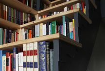 shelving, libraries & books