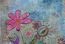 Mixed Media Art by Alison J Gilbert