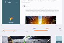 UI Design / UI kits, Color Themes, Dashboards and other UI designs