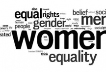 "equality / All about women, reproductive rights, pro-choice, healthcare, politics and feminism, religious right, liberals, conservatives, religion, pro-life, abortion, fair pay, uterus, body image, health, and politics. Feminism is both an intellectual commitment and a political movement that seeks justice for women and the end of sexism in all forms. ""A feminist is anyone who recognizes the equality and full humanity of women and men."" -Gloria Steinem / by Linda Peck"