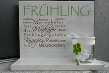 Deko/ basteln - Ostern & Frühling