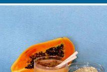 batido papaya