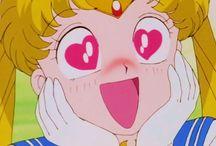 Sailor moon faces