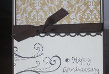 Anniversary greeting card / Simple
