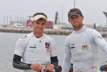 Energa Team Sailing w Weymouth! 12.06 2016 / Przygotowujący się do igrzysk Łukasz Przybytek i Paweł Kołodziński zajęli 4. miejsce w klasie 49er, a Agnieszka Bilska uplasowała się na 5. pozycji w klasie RS:X podczas zawodów Pucharu Świata klas olimpijskich w angielskim Weymouth.