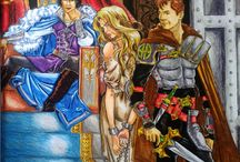 Coloring books throne of glass