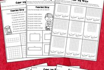 Printable Packets / Sometimes you don't have time to prep activities. Print and go or printable packets are an easy solution. Just print the pages your students need and you are all set for math.