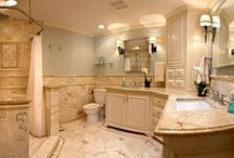 Master bed and bath