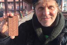 Cover in legno per iPhone / Cover in vero legno recuperato