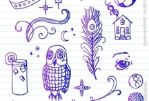 <:> Doodles / Funky Doodles and Illustrations