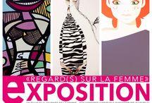 Exposition Regard(s) sur la Femme / En écho à la journée internationale de la Femme, trois artistes, Nguyen Tay, Red Dito et Le Cholito exposent leur(s) regard(s).