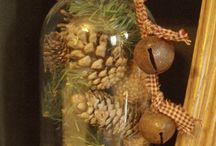 dekorace ve sklenici