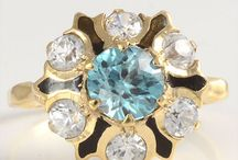 december birthstones / Blue zircon, tanzanite and turquoise are all considered December birthstones.