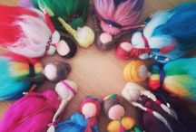 lana para fieltrar