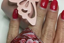 Accessori in gel e micropittura / Ciondoli, collane, anelli, bracciali