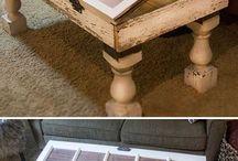 Table avec fenetre