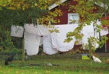 Wasjes, wasjes en wasjes / Buitenhangende wasjes geven mooie foto's