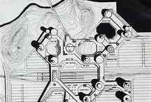 80s futuristic game moodboard