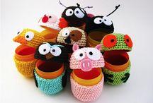 huevos kinder crochet