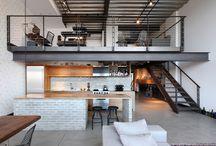 Loft architecture / Loft ideas