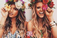 Boho, Gypsy style / Hippie Bohemian Boho Bohéme Feathers Gypsy Spirit Style