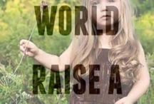 save the world - raise a hippie